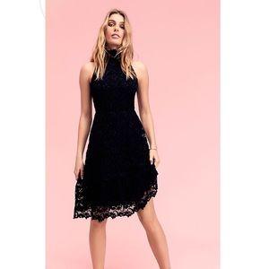 Nightcap Dixie Lace Soiree Midi Dress